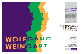 2 colour poster design