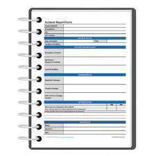 incident report form template darley pcm