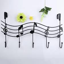 music wall hook door hanger kitchen storage rack cupboard hanging