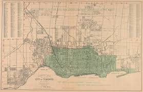 Map Of Toronto And New York by Historical Maps Of Toronto Miscellaneous Toronto Maps