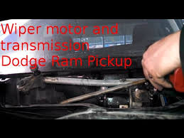 1994 dodge ram 1500 transmission wiper motor transmission replacement 2004 dodge ram 1500 how to