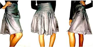 Draped Skirts Skirts Frocks Archives Usha Seminary