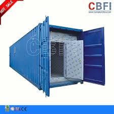 container chambre froide réfrigération 20 pi de 40ft de chambre froide de conteneur