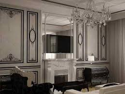 home design and decor company interior design classic black white stripe wallpaper family room