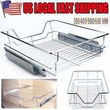 Kitchen Cabinet Pull Out Baskets Single Tier Pull Out Wire Basket Kitchen Cabinet Pull Out Sliding