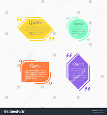 Business Card Sheet Template Quote Blank Template Design Elements Shapes Stock Vector 481594726