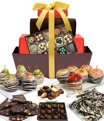 chocolate covered fruit baskets chocolate covered company business gifts