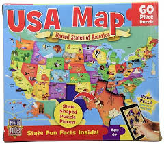 usa map jigsaw puzzle masterpieces puzzle company usa map jigsaw puzzle 60