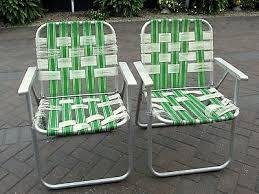 Vintage Aluminum Folding Chairs 2 Vintage Lawn Chair Aluminum Folding Chairs Frame And Handle Only