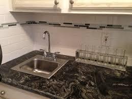 grouting kitchen backsplash kitchen backsplash fabulous backsplash for busy granite kitchen