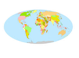 144 free vector world maps