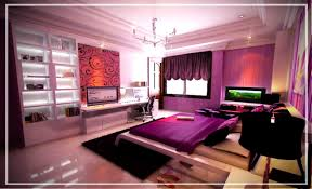 fabulous purple bedroom decorating ideas with interior home paint