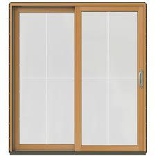 Double Doors Interior Home Depot Andersen 72 In X 80 In 400 Series Frenchwood Left Hand Sliding