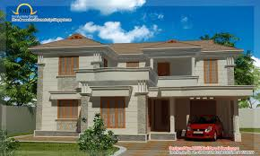 pretty villa homes on duplex villa elevation 2090 sq ft kerala