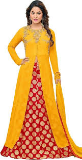 suit dress clothfab women georgette heavy embroidery party wear salwar suit