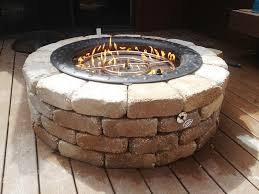 outdoor custom firepit ideas u2014 home fireplaces firepits