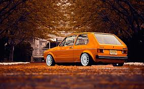 classic volkswagen cars cars old volkswagen golf 1 stance walldevil