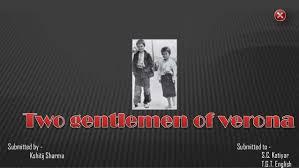 two gengle men of verona