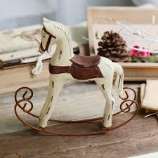 online get cheap wooden horse figurines aliexpress com alibaba