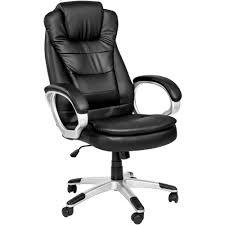 fauteuil de bureau chaise de bureau fauteuil de bureau hauteur réglable en noir tectake