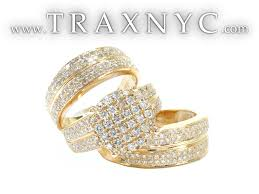 gold set for marriage unique gold diamond wedding ring hd weddings decorations ideas of