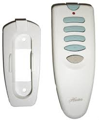 hunter ceiling fans remote control model 850940 04000 integrated transmitter remote control