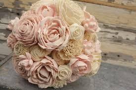 sola flowers blush pink wedding bouquet sola flower bouquet pale pink sola