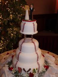 baseball wedding cake toppers sports themed weddings sports themed wedding cakes