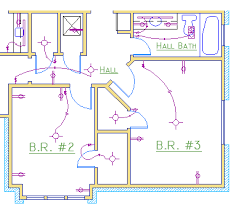 house electrical layout plan dwg home deco plans