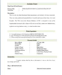 best curriculum vitae format for freshers pdf to word download best resume format 100 images professional