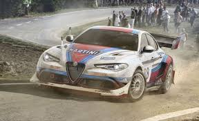 mercedes rally alfa romeo giulia rally car looks stunning rendering is a guilty