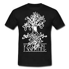 yggdrasil viking tree of t shirt firecross media designs