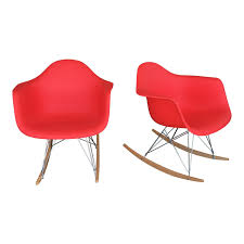 pair of eames style rocking chairs design plus gallery