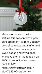 make memories to last a lifetime this season with a paw print