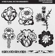 japanese flower ornament free vector 18 197 free vector