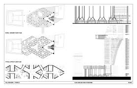 auto use floor plan mixed use building joseph chun archinect