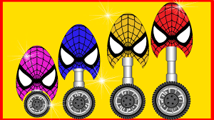 Coloring Eggs Spiderman Toys Surprise Eggs For Children Spiderman Coloring
