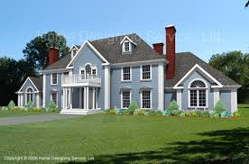 House Plans Colonial Plan 7550 Cl Custom Designed Colonial House Plan Style And