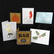 easy christmas cards six ways