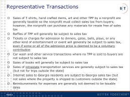 overview application of sales use taxes to nonprofits ppt download
