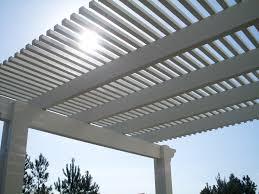 Pergola Rafter Tails by Lattice Cover Us Aluminum