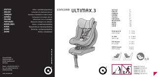 si e auto concord ultimax manual de instruções ultimax 3 da concord