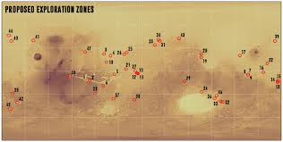 Mars Map Call For Maps Mars Exploration Zone Map Design Competition Ica