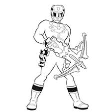 35 free printable power rangers coloring pages