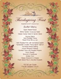 thanksgiving feast protocol steak seafood restaurant bar