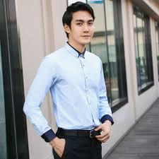 Boys Casual Dress Clothes Aliexpress Com Buy Brand Fashion Long Sleeve Men Shirt Casual