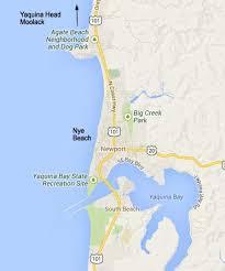 map of oregon lighthouses newport oregon nye tour oregon coast newport