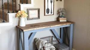 Contemporary Entryway Table Entry Decorating Meadow Lake Road Smallest House Intended For