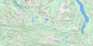 buttle lake bc maps free topographic map sheet 092f12 at