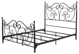 denise austin home horatio metal bed frame rustic panel beds